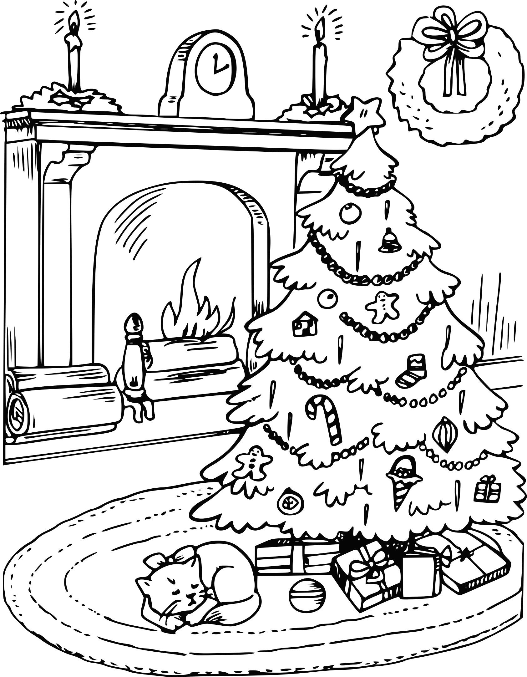 Coloriages à imprimer : Sapin de Noël, numéro : 116611eb