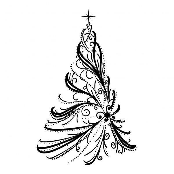 Coloriages à Imprimer Sapin De Noël Numéro 44793