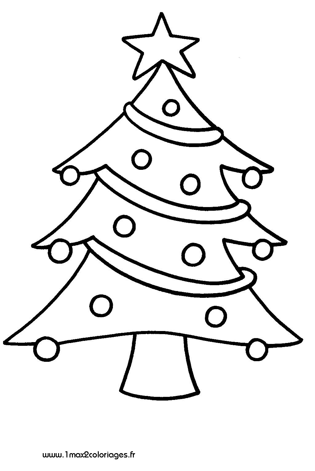 Coloriages à imprimer : Sapin de Noël, numéro : 50889