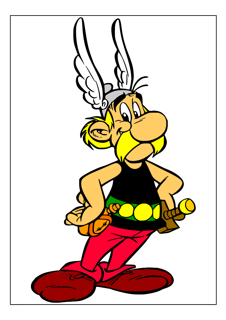 Dessins en couleurs à imprimer : Astérix, numéro : 389767