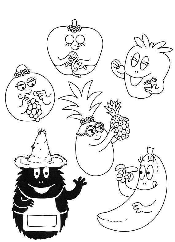 Coloriages à imprimer : Barbapapa, numéro : 113645