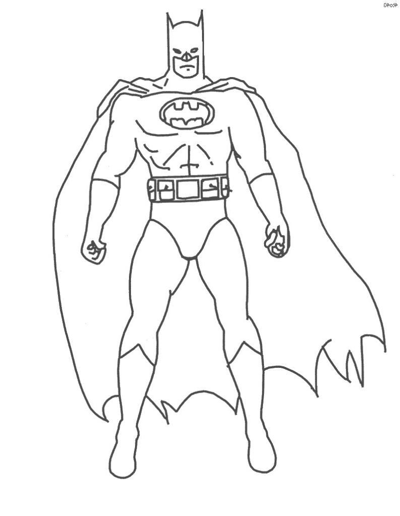 Coloriages A Imprimer Batman Numero 6a06dc1b