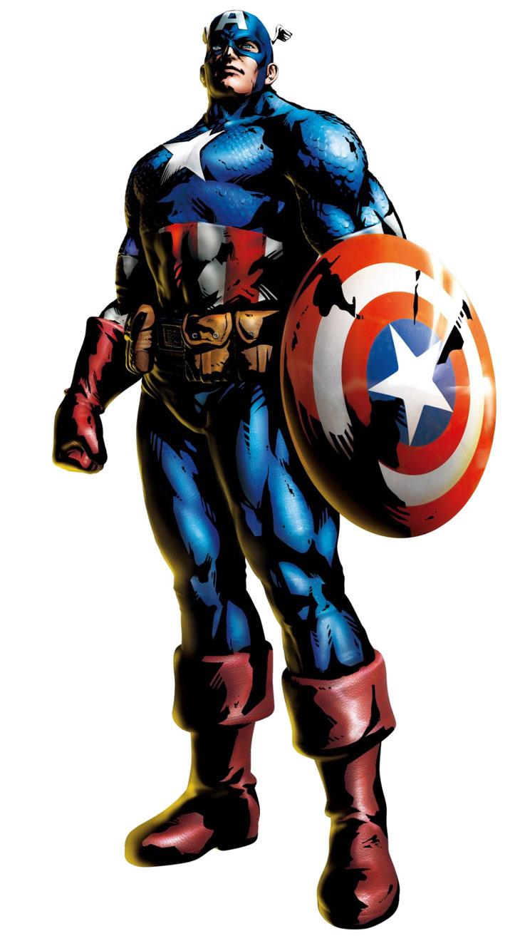 Dessins en couleurs à imprimer : Captain America, numéro ...