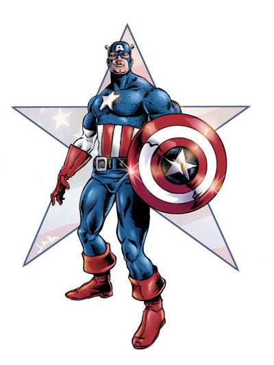 Dessins En Couleurs A Imprimer Captain America Numero 283477