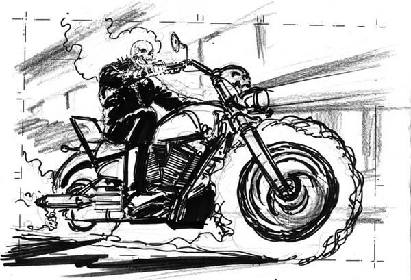 Coloriages A Imprimer Ghost Rider Numero 2584