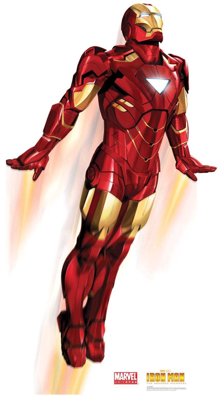 Dessins En Couleurs à Imprimer Iron Man Numéro 22318