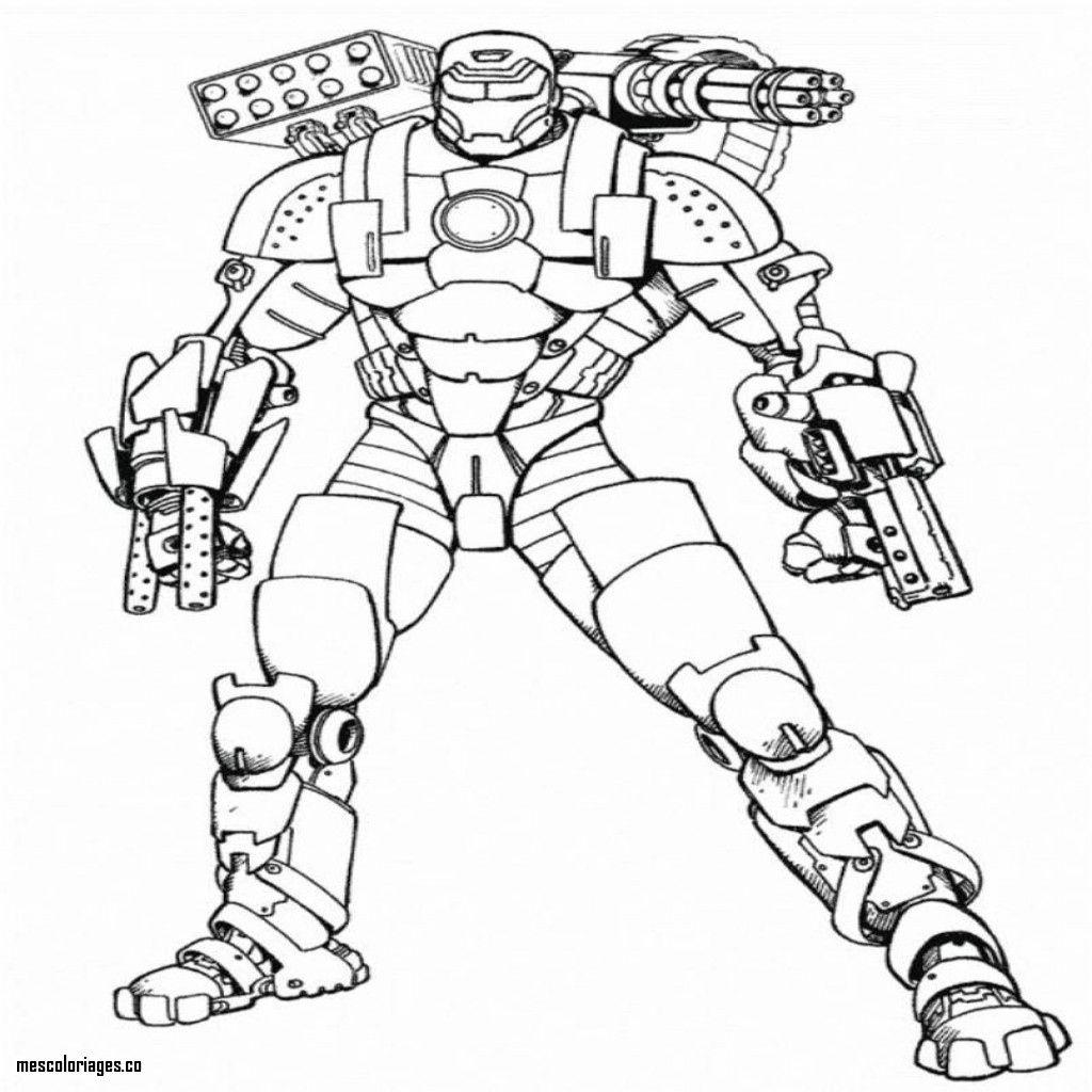 Coloriages à imprimer : Iron Man, numéro : afac5997