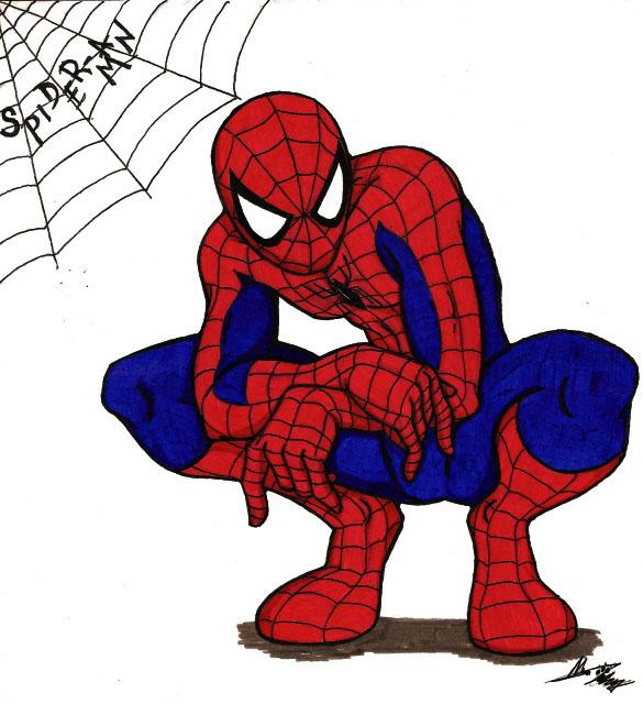 Dessins en couleurs à imprimer : Spiderman, numéro : 18839
