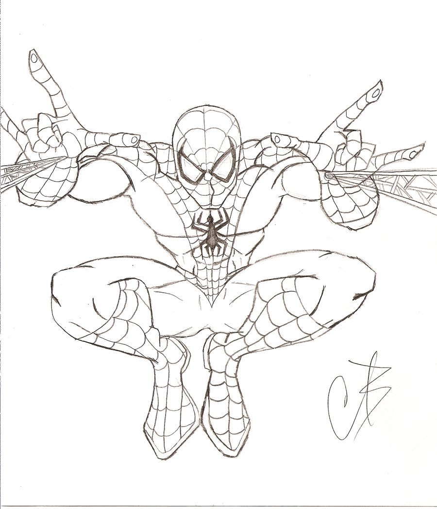 dessins en couleurs  u00e0 imprimer   spiderman  num u00e9ro   22321
