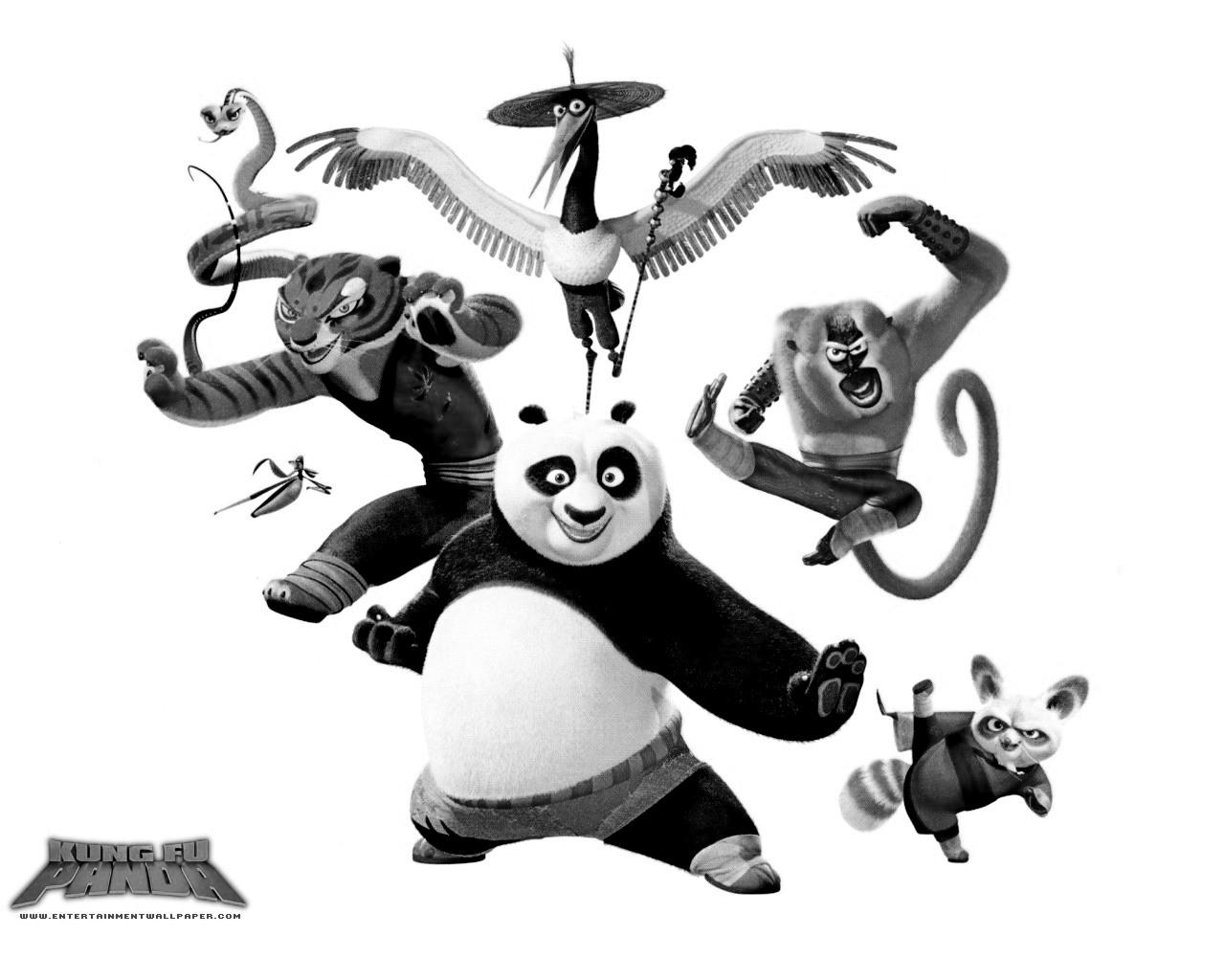 Coloriages A Imprimer Kung Fu Panda Numero 543560