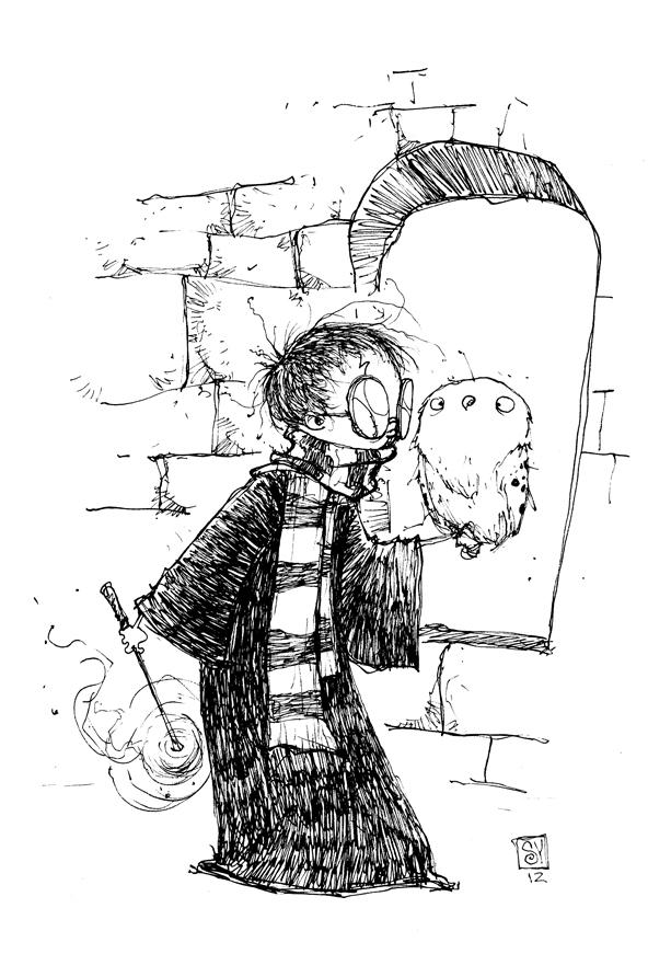 Coloriages à imprimer : Harry Potter, numéro : 113439