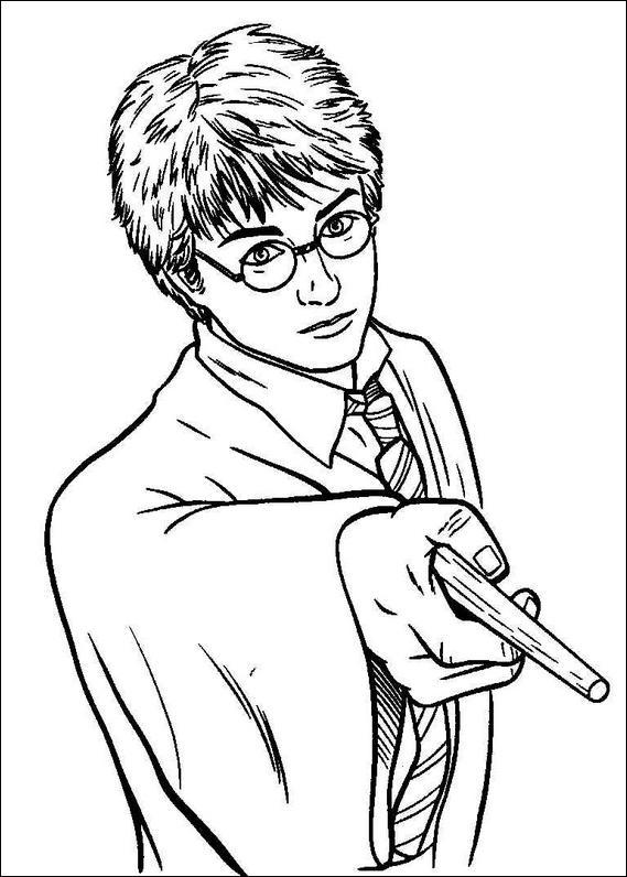 Coloriages à imprimer : Harry Potter, numéro : 128263