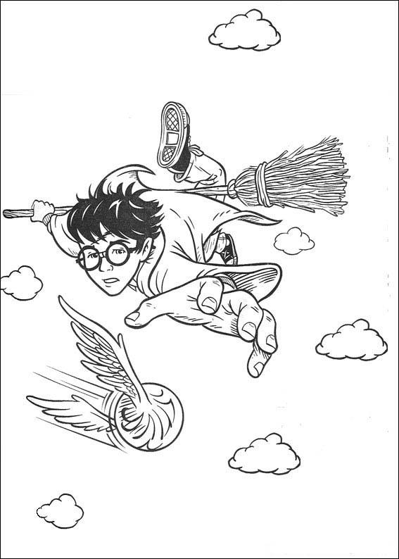 Coloriages à imprimer : Harry Potter, numéro : 141771