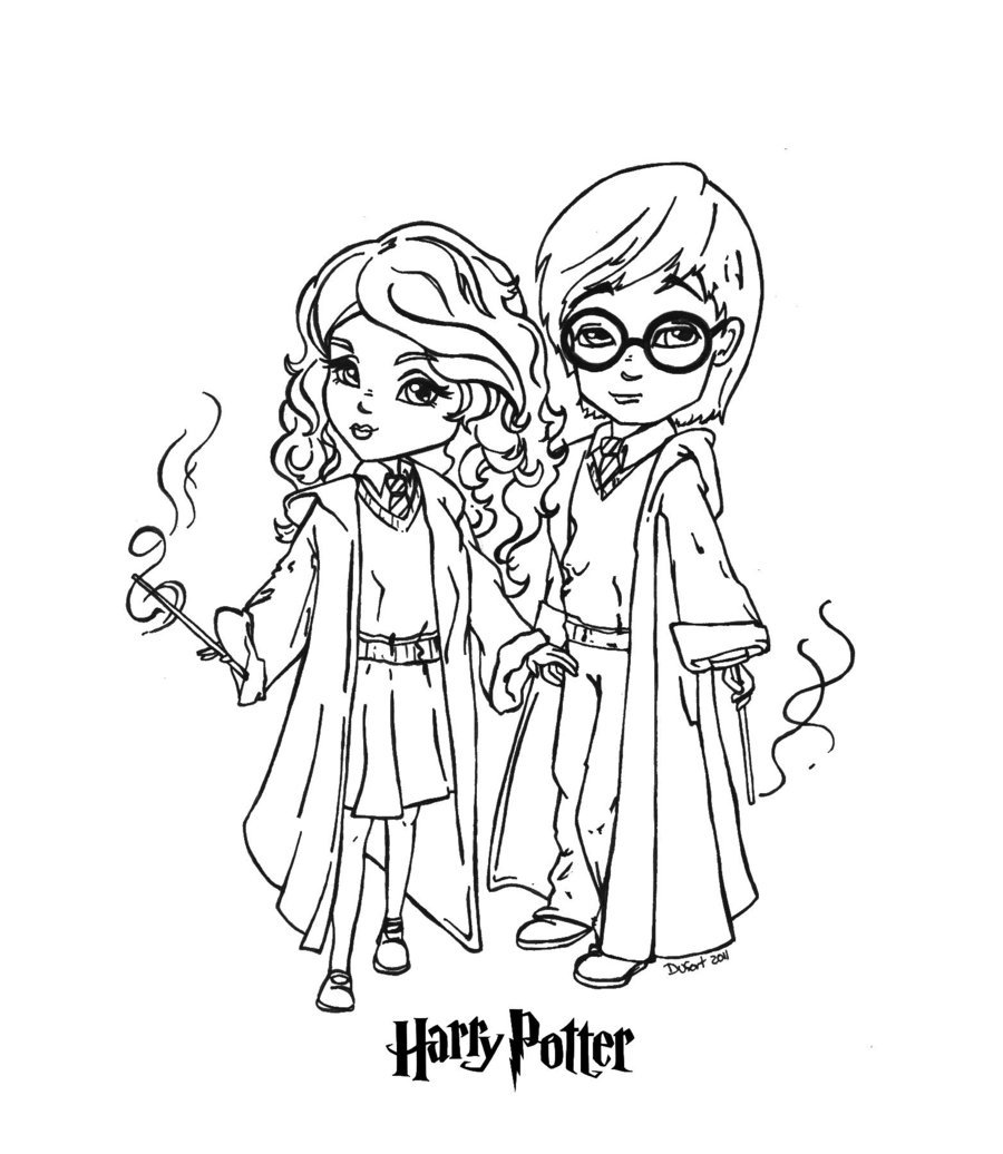Hermione - Free Coloring Pages