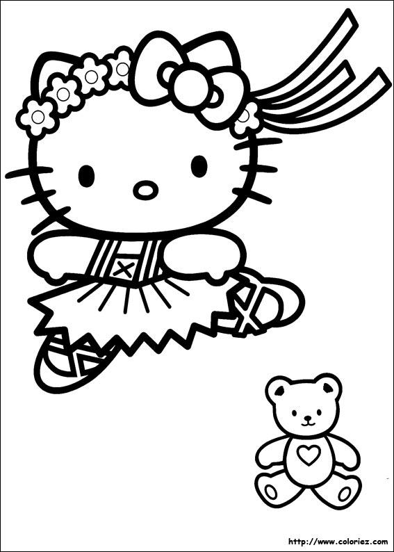 Coloriages A Imprimer Hello Kitty Numero 4617