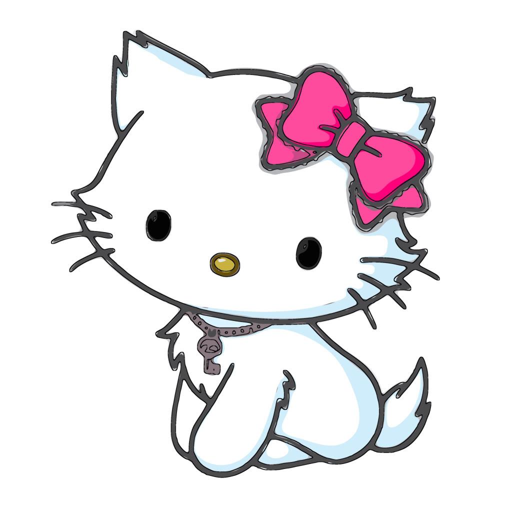 Dessins En Couleurs A Imprimer Hello Kitty Numero 511939