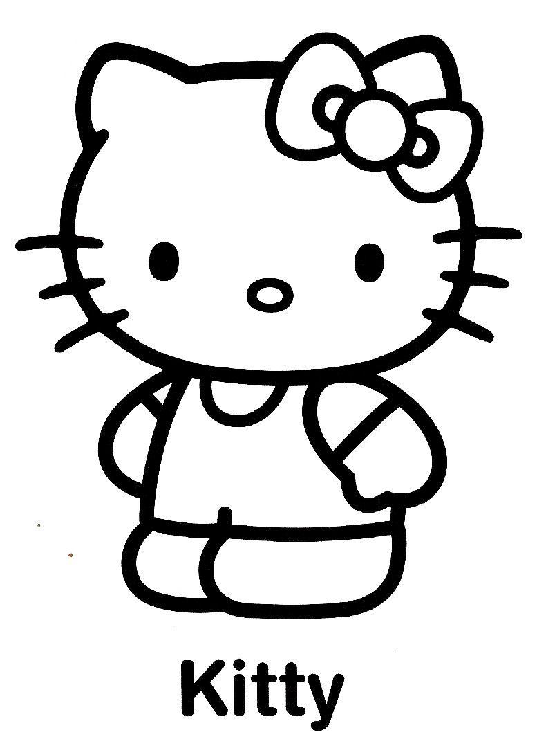 Dessins En Couleurs A Imprimer Hello Kitty Numero 58494