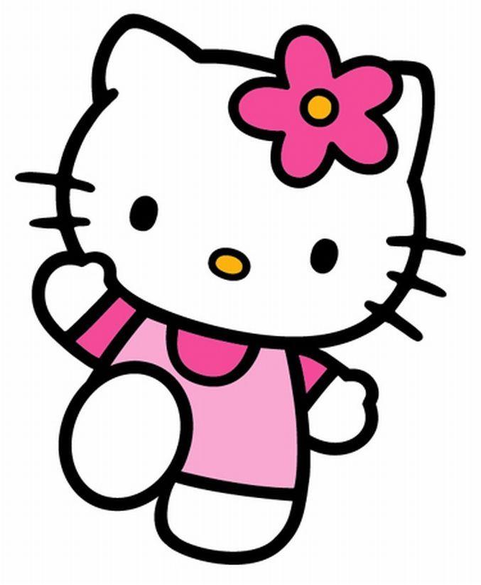 Dessins En Couleurs A Imprimer Hello Kitty Numero 620013