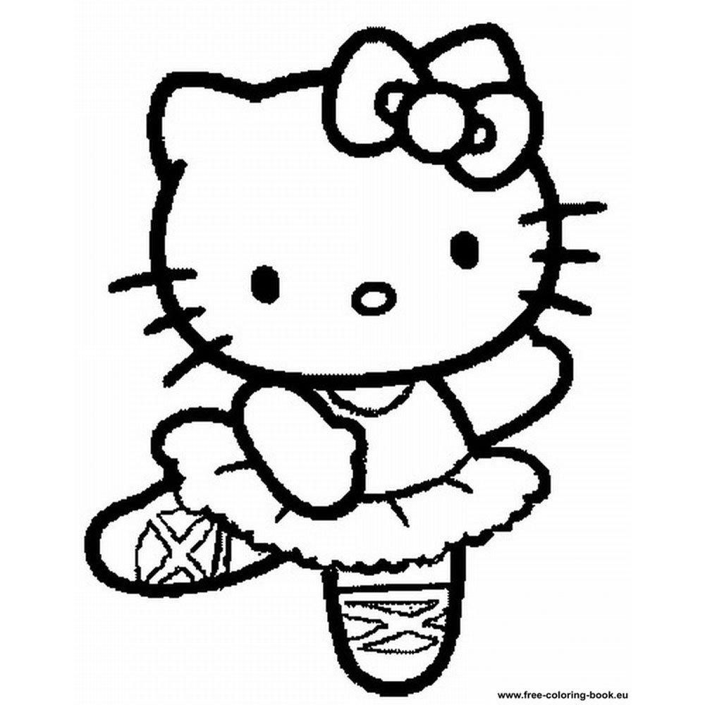 Coloriages à imprimer : Hello Kitty, numéro : ca7b1b99