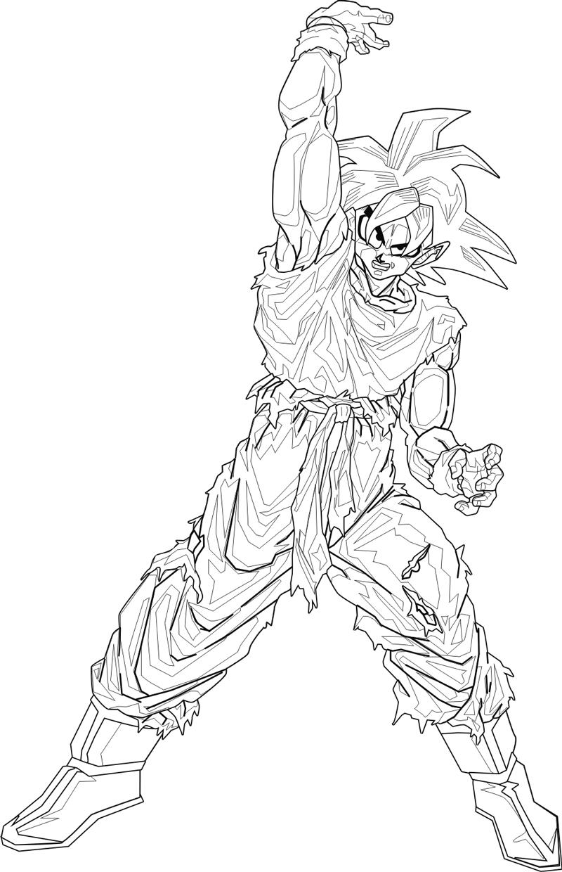 Coloriages A Imprimer Son Goku Numero 15777158