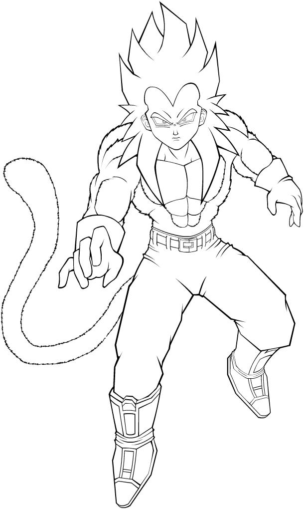 Coloriages à Imprimer Son Goku Numéro 21956