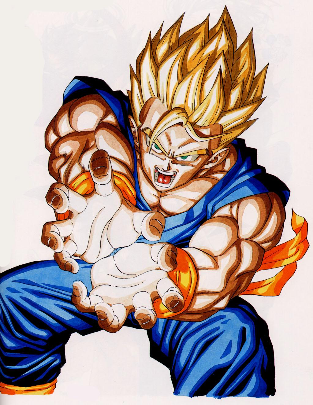Dessins En Couleurs A Imprimer Son Goku Numero 367819