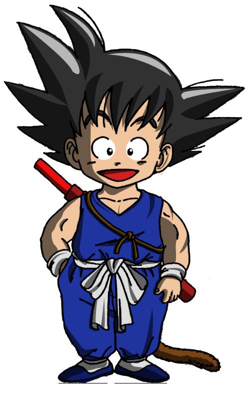 Dessins En Couleurs A Imprimer Son Goku Numero 71271