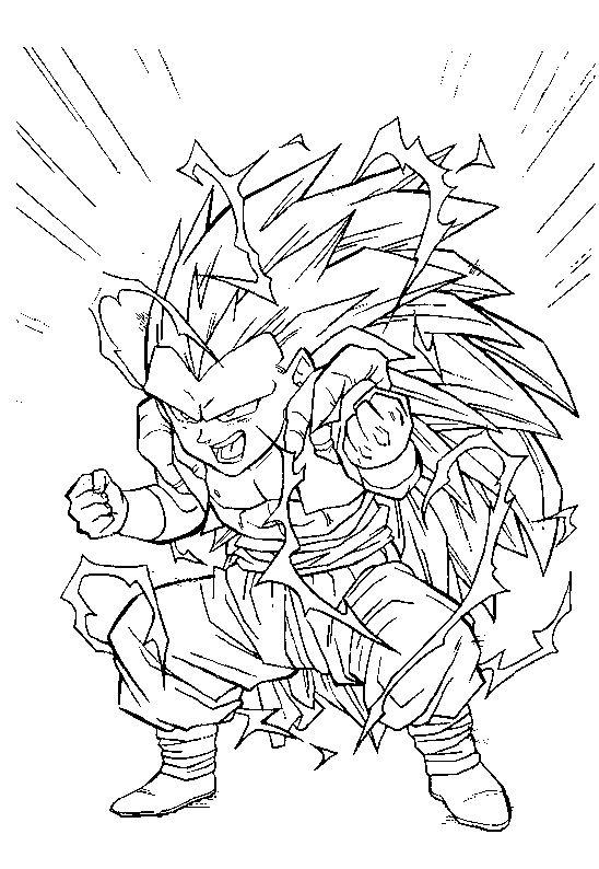 Coloriages A Imprimer Son Goku Numero 851