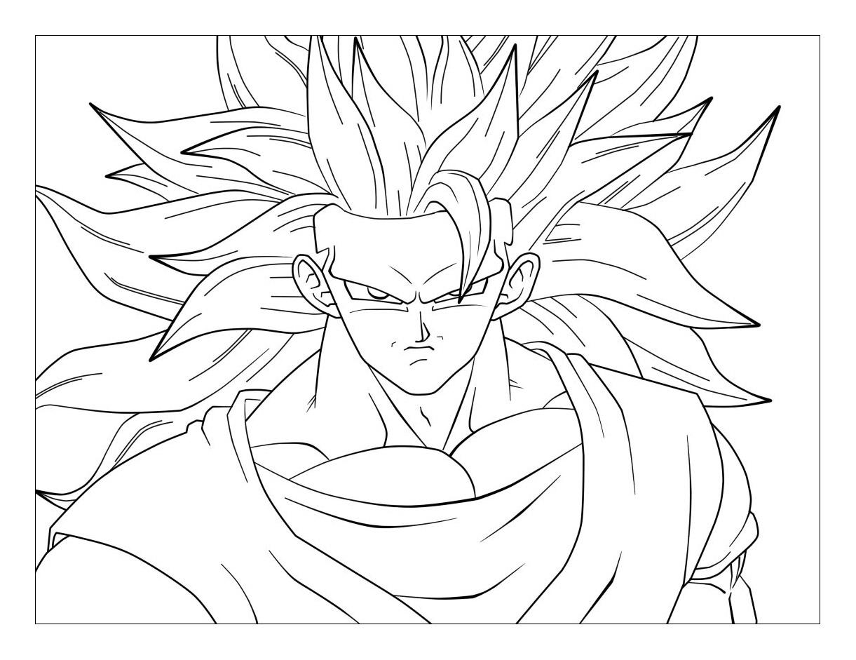 Coloriages A Imprimer Son Goku Numero C67a13a