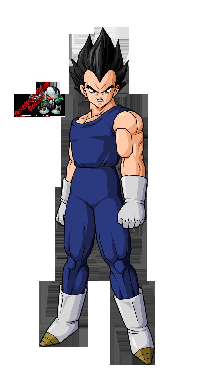 Dragon Ball Dessin Dragon Ball Z Vegeta En Couleur
