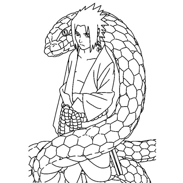 Coloriages A Imprimer Naruto Numero 23716