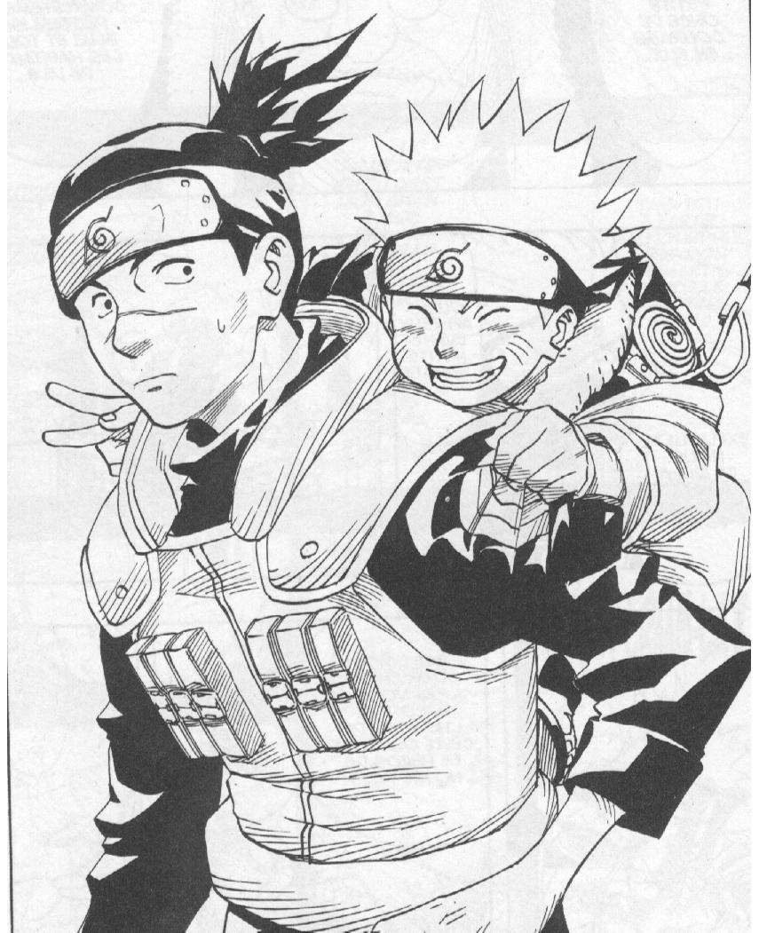 Coloriages à imprimer : Naruto, numéro : 296628