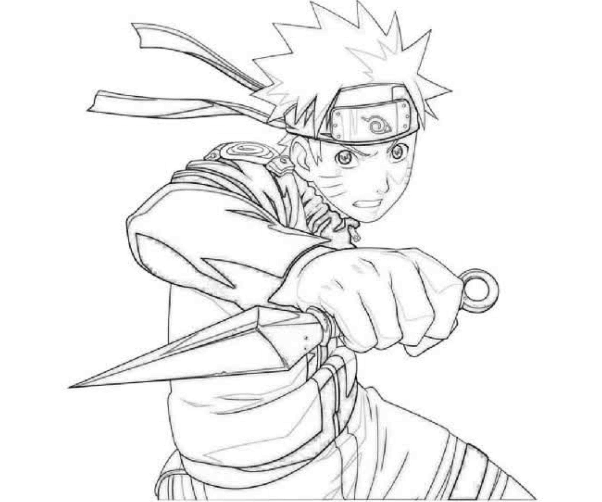 Coloriages à imprimer : Naruto, numéro : 5f25268
