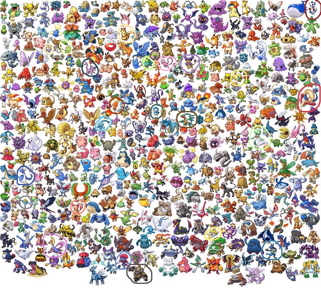 Dessins En Couleurs à Imprimer Pokemon Numéro 21128