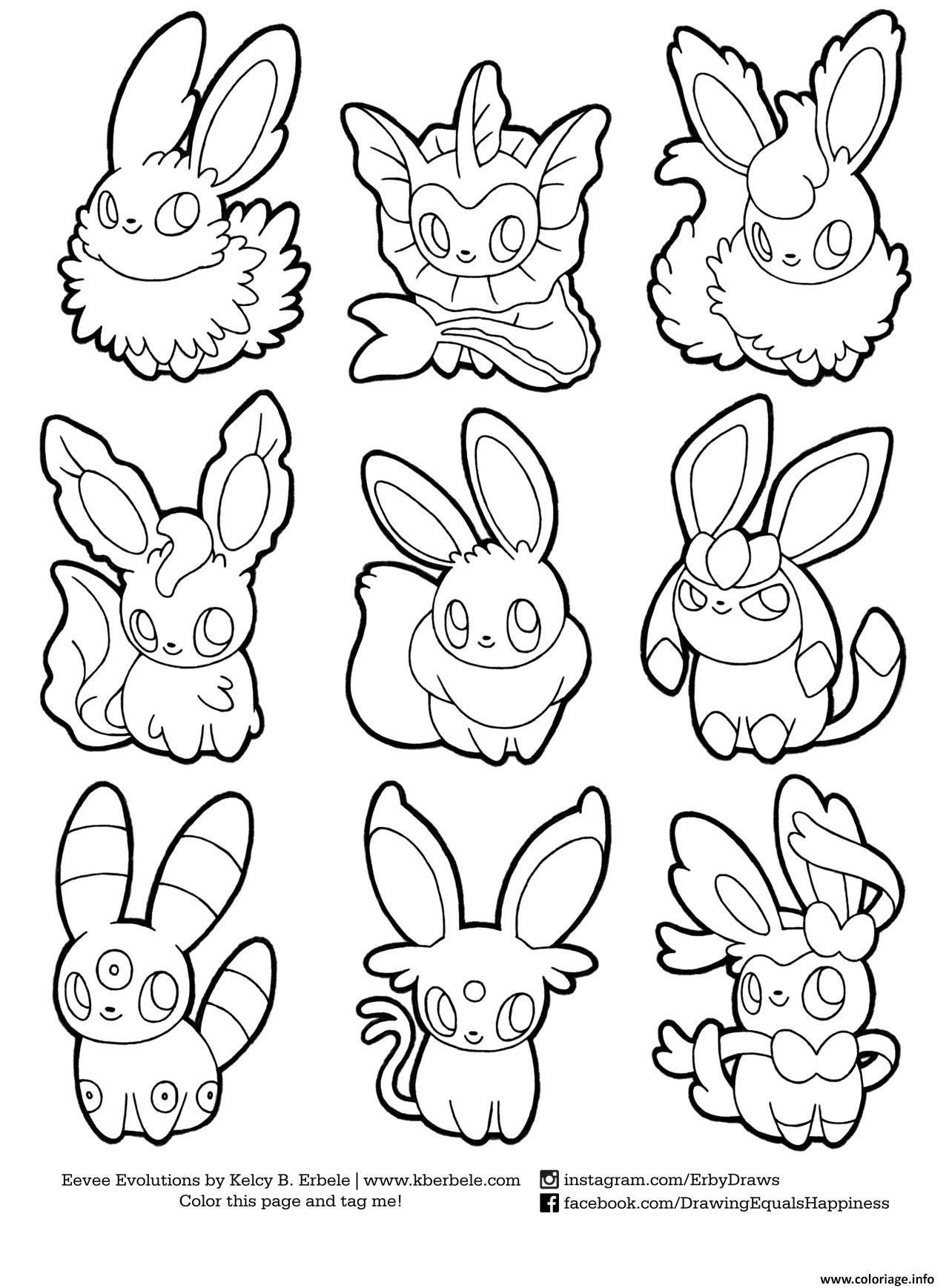 Coloriages à Imprimer Pokemon Numéro 2565132d