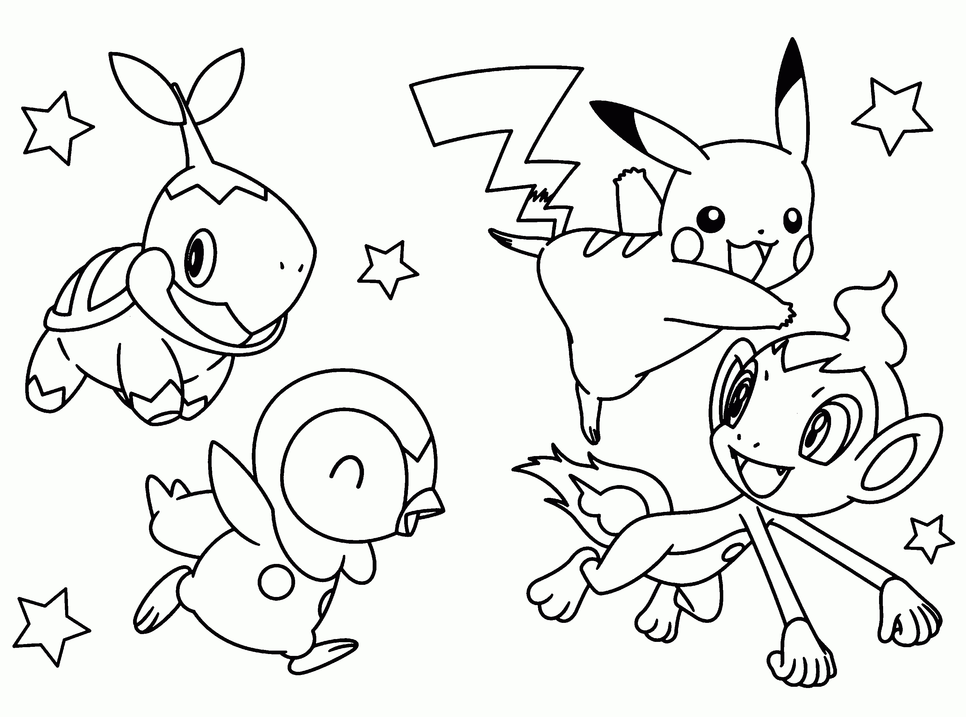 Coloriages A Imprimer Pokemon Numero Ad12c970