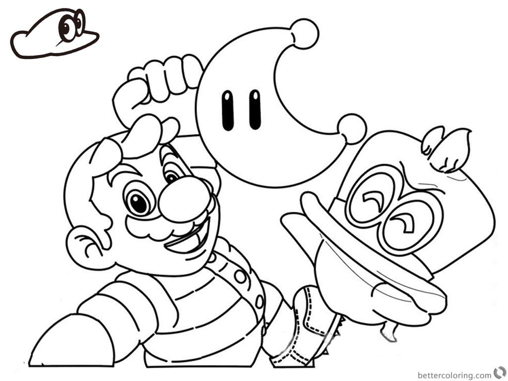 Coloriages à imprimer : Super Mario, numéro : 13f5ed88