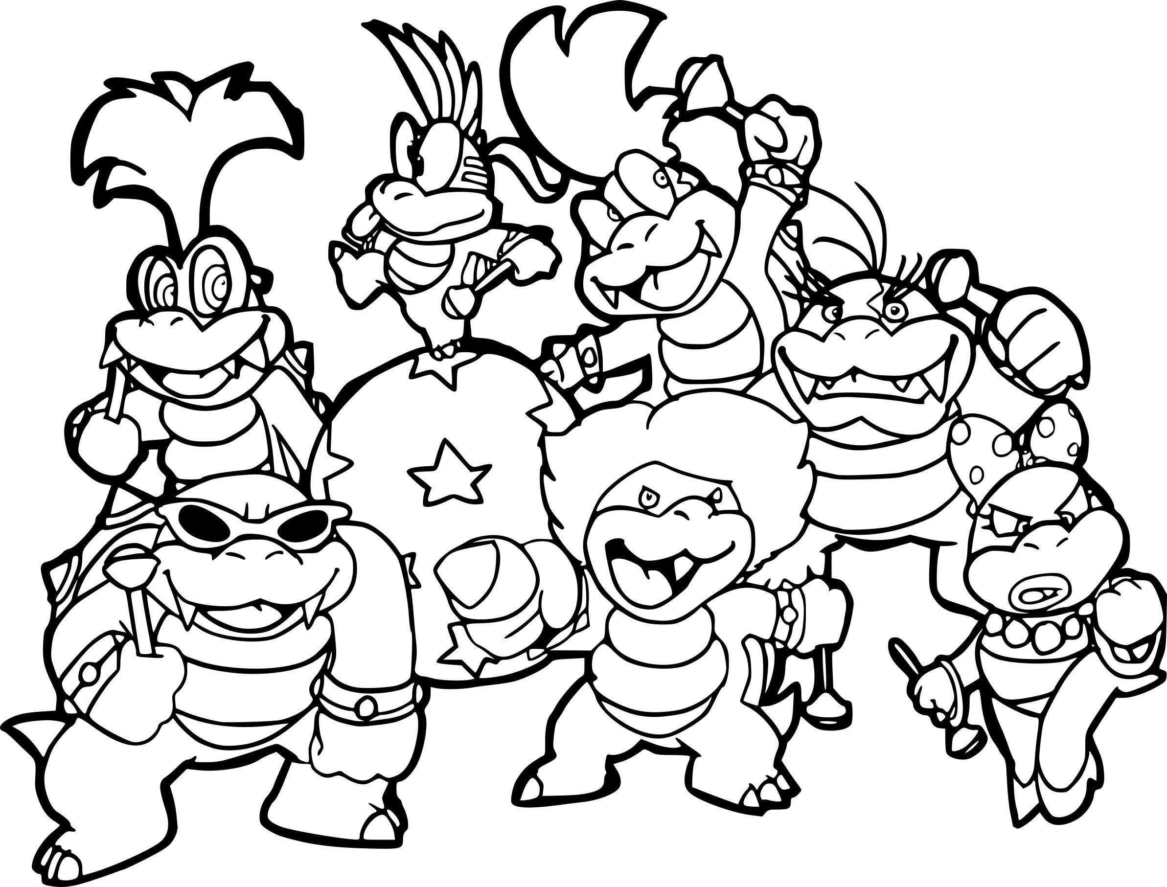 Coloriages A Imprimer Super Mario Numero 6593c7b4