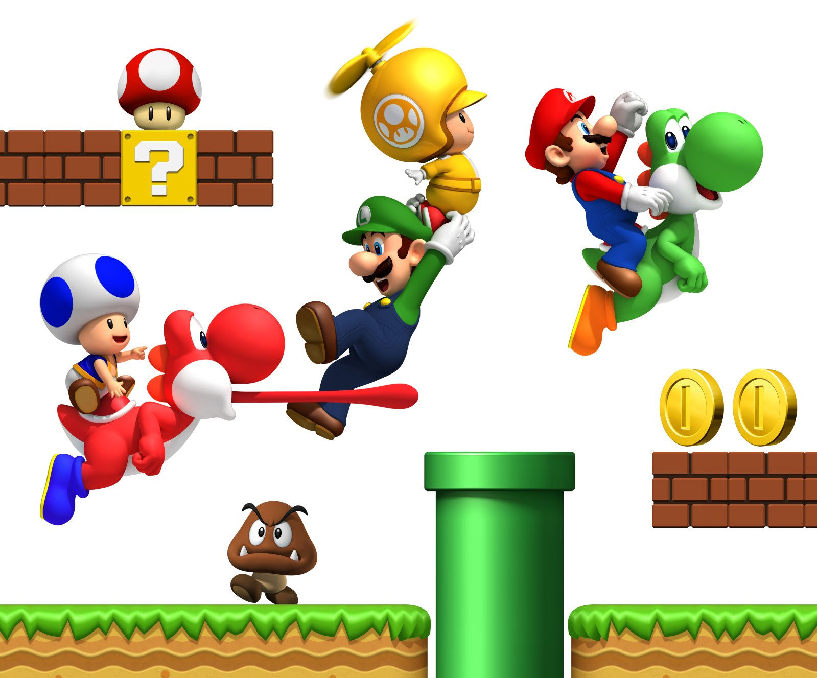 Dessins En Couleurs à Imprimer Super Mario Numéro 91507