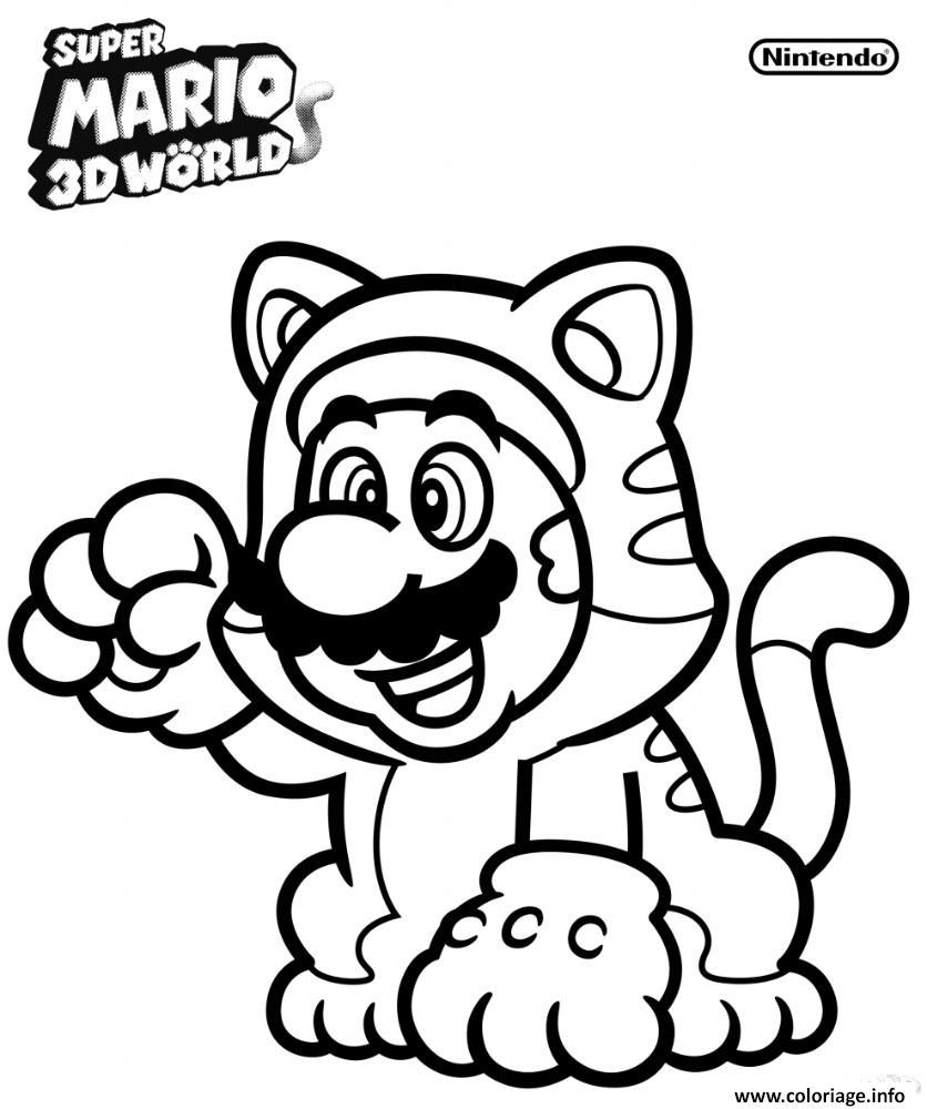 Coloriages A Imprimer Super Mario Numero Cf35ef96