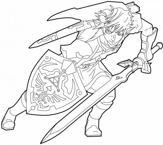 Coloriages à imprimer : Zelda, numéro : 2200