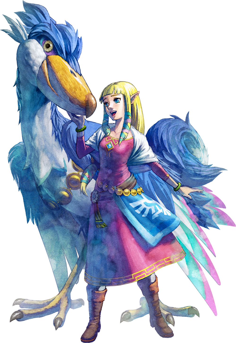 Dessins En Couleurs A Imprimer Zelda Numero 683847