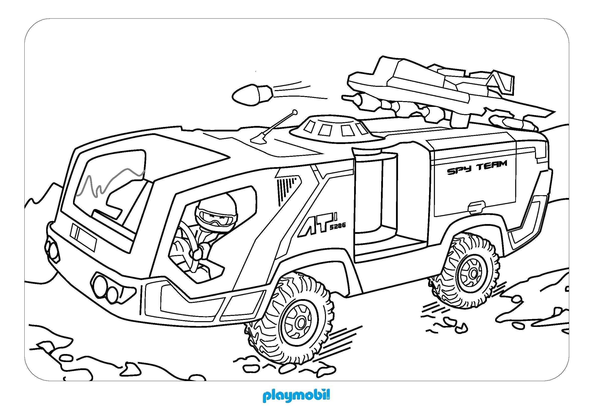 coloriages à imprimer  playmobil numéro  43d803c8