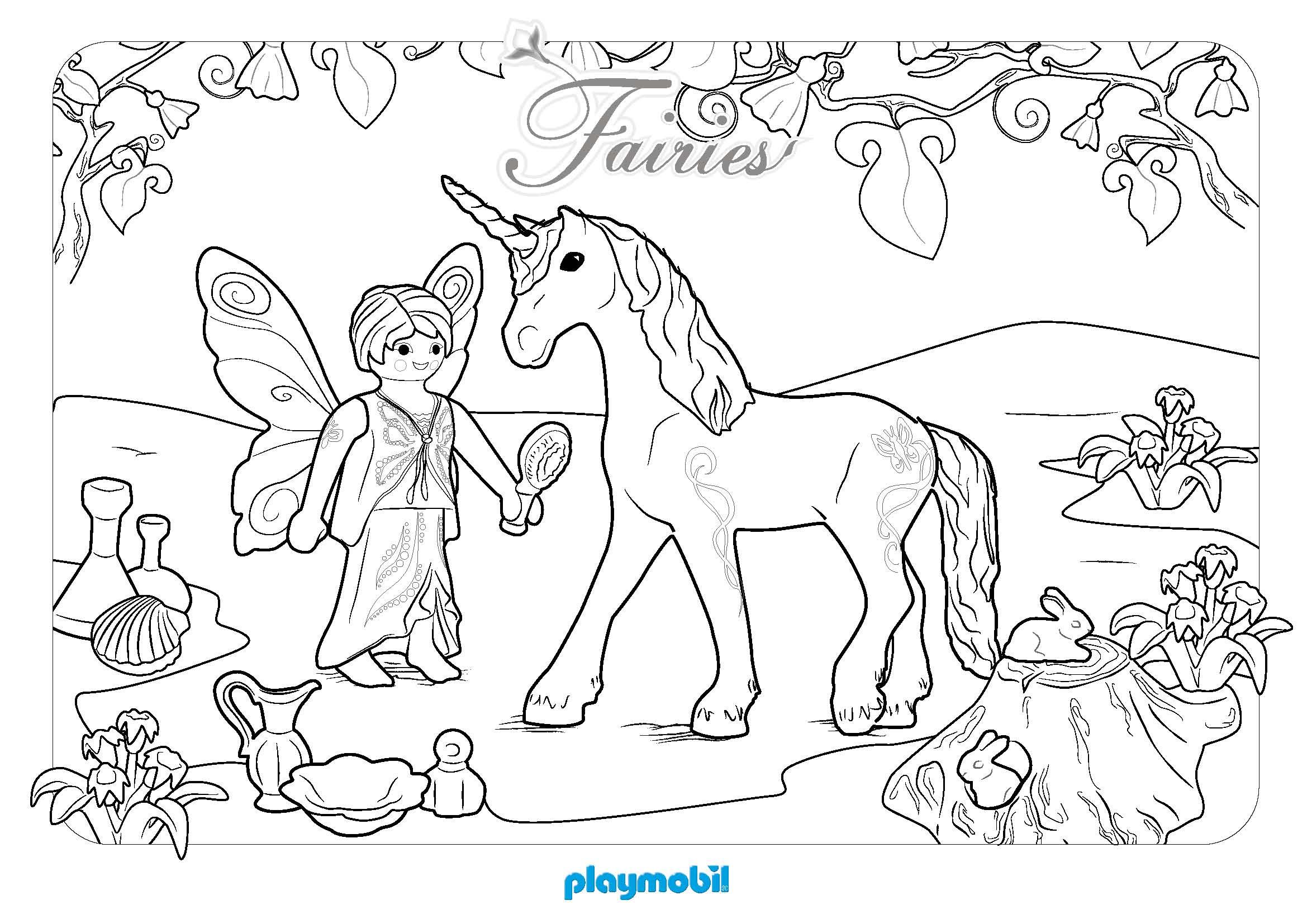 Coloriages à Imprimer Playmobil Numéro 81cc094