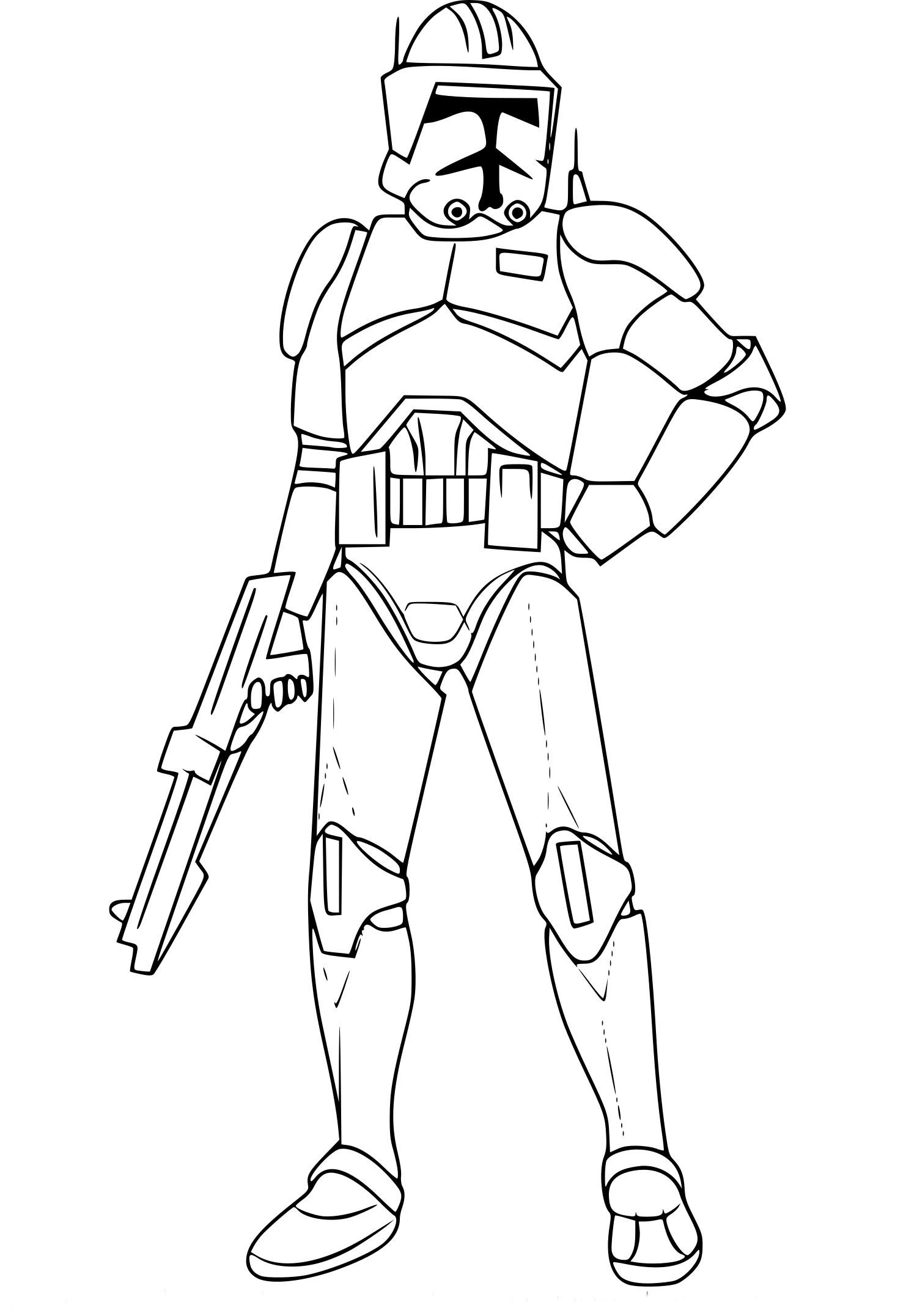 Coloriages à imprimer : Star Wars, numéro : af807a02