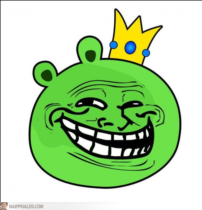 Dessins en couleurs à imprimer : Troll face, numéro : 120441
