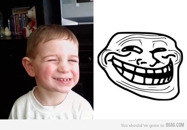 Dessins en couleurs à imprimer : Troll face, numéro : 137547