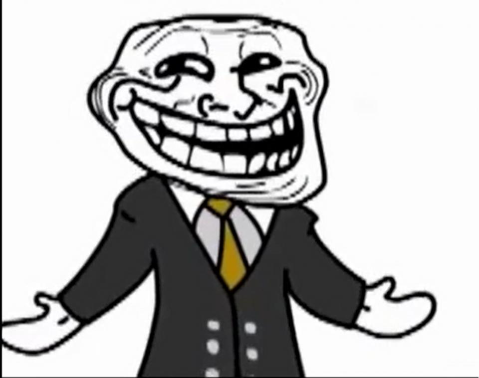 Dessins en couleurs à imprimer : Troll face, numéro : 159013