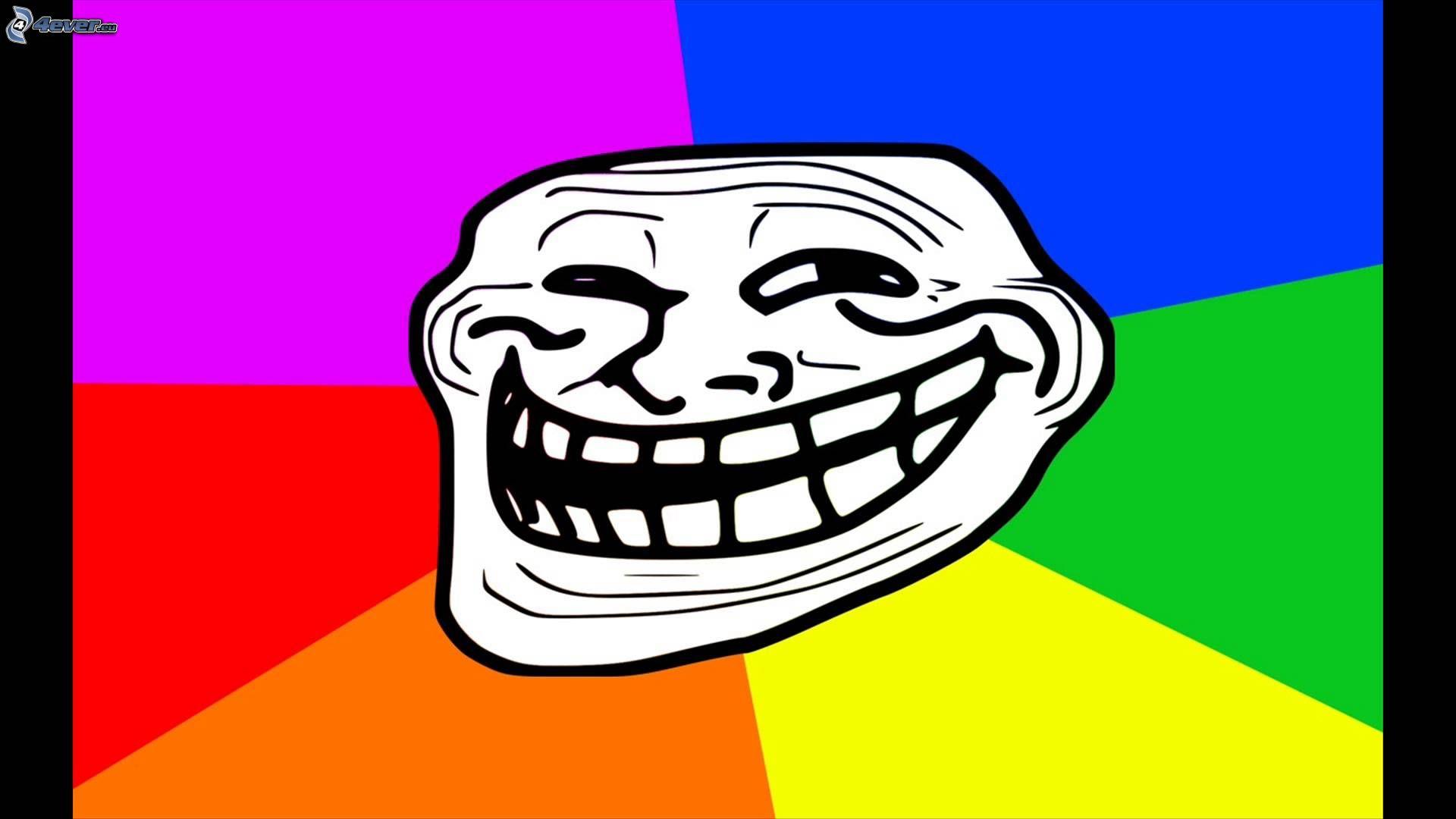 Dessins en couleurs à imprimer : Troll face, numéro : 2c743ee3