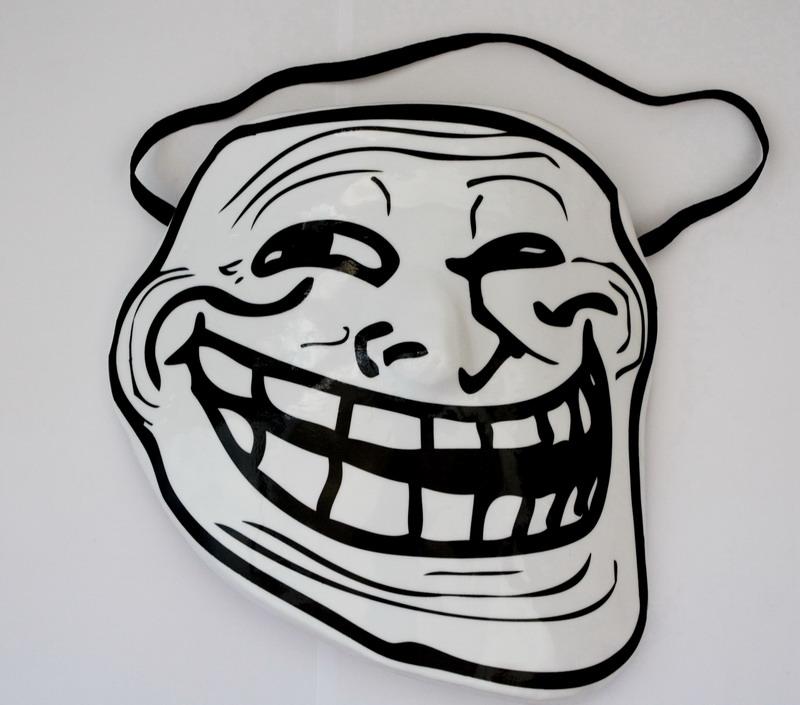 Dessins en couleurs à imprimer : Troll face, numéro : 372077